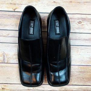 Stacy Adams Black Dress Loafers